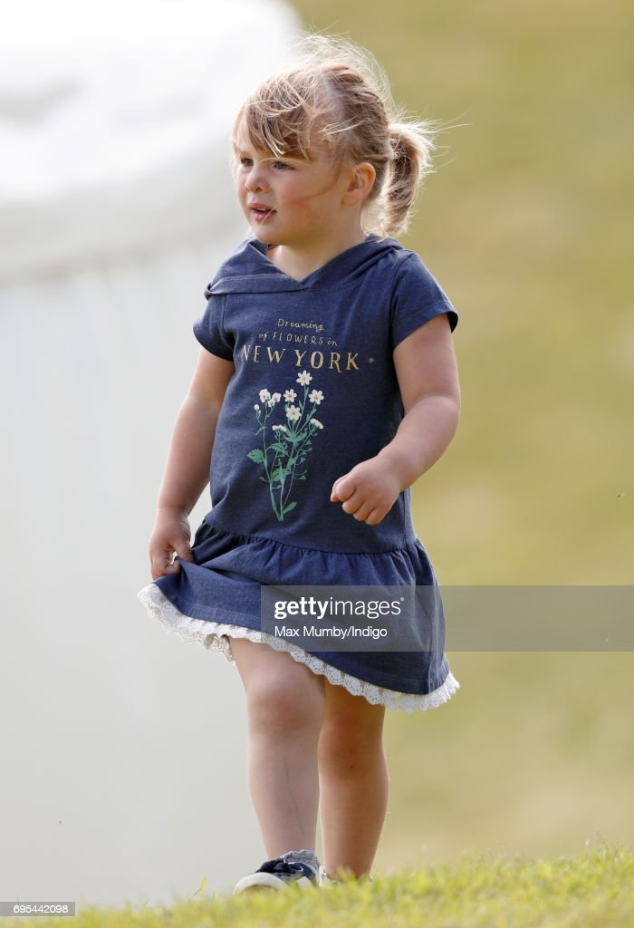 Mia Tindall attends the Maserati Royal Charity Polo Trophy Match during the Gloucestershire Festival of Polo at the Beaufort Polo Club on June 11, 2017 in Tetbury, England.