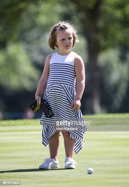 Mia Tindall during the 2018 'Celebrity Cup' at Celtic Manor Resort on June 30 2018 in Newport Wales