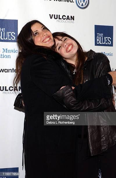 Mia Tyler and Chelsea Tyler during Arrivals for The Salute To The Blues Concert at Radio City Music Hall in New York NY United States