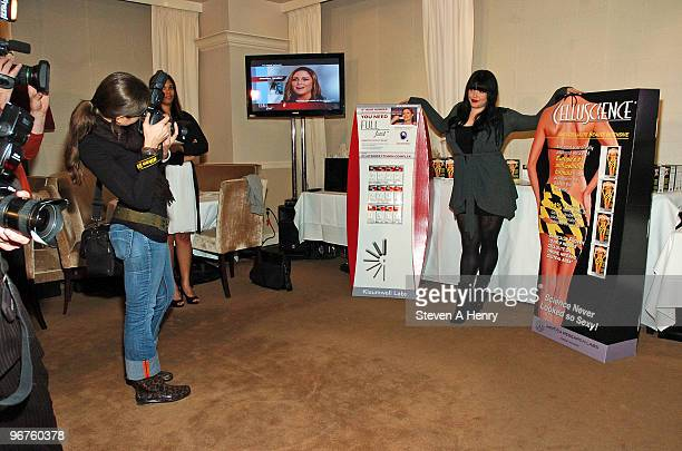 Mia Tyler attends the launch of Fullfast CelluScience at Piano Due on February 16 2010 in New York City