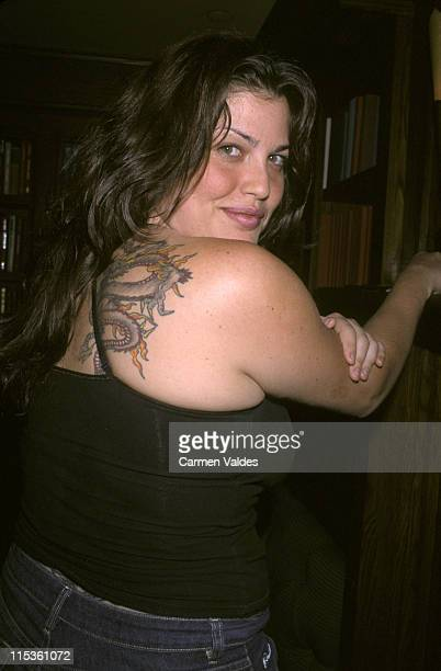 Mia Tyler during 21st Birthday Party For Stasha Bowie at The Carnegie Club in New York City New York United States