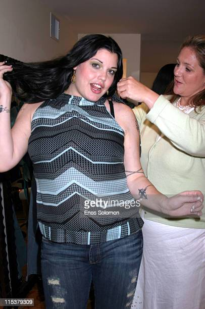 Mia Tyler during Lane Bryant's Hollywood Suite and Retreat at Celebrity Spa in Beverly Hills California United States