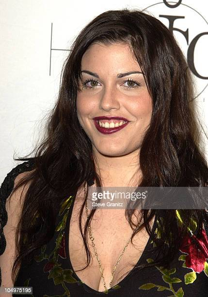 Mia Tyler during MTV Icon Honors Aerosmith Arrivals at Sony Pictures Studios in Culver City California United States