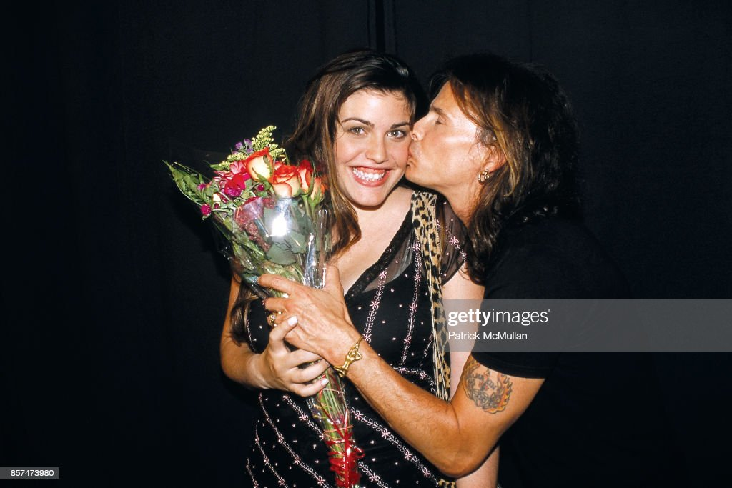 Mia Tyler, Steven Tyler Lane Bryant lingerie fashion show 'The Big Kiss' The