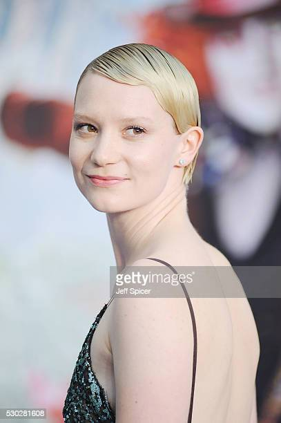 Mia Wasikowska attends the European premiere of Alice Through The Looking Glass at Odeon Leicester Square on May 10 2016 in London England