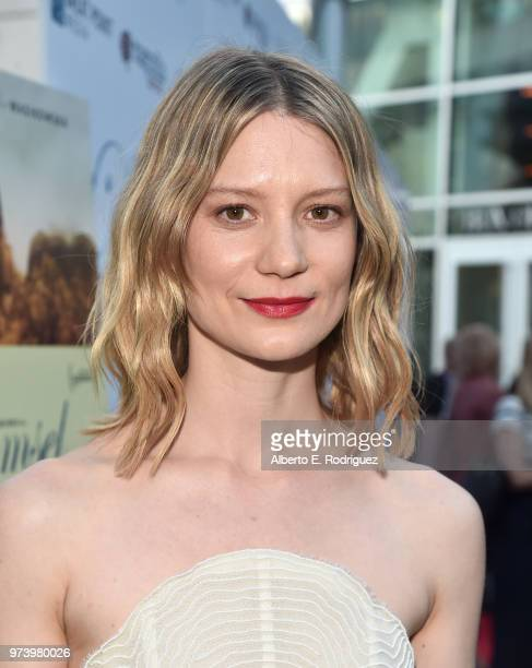 Mia Wasikowska attends the premiere of Magnolia Pictures' Damsel at ArcLight Hollywood on June 13 2018 in Hollywood California
