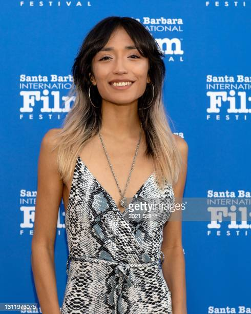"Mia Xitlali from the film ""Coast"" attends closing night of the 36th Santa Barbara International Film Festival on April 10, 2021 in in Santa Barbara,..."