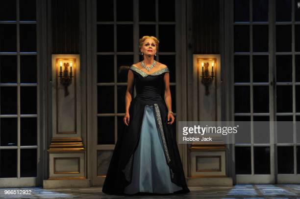 Miah Persson as The Countess in Richard Strauss's Capriccio directed by Tim Albery and conducted by Douglas Boyd at Garsington Opera at Wormsley on...
