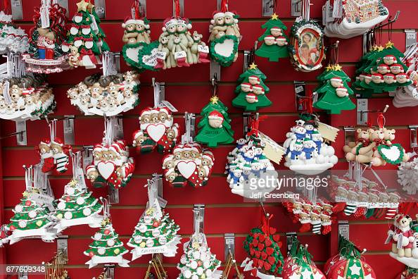 miami bayside marketplace christmas ornaments pictures getty images