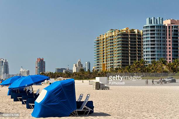 miami - beach and condominiums - pjphoto69 stock pictures, royalty-free photos & images