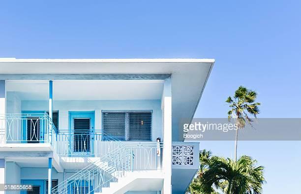 Arte decó de Miami playa Tropical edificios un destino de viaje