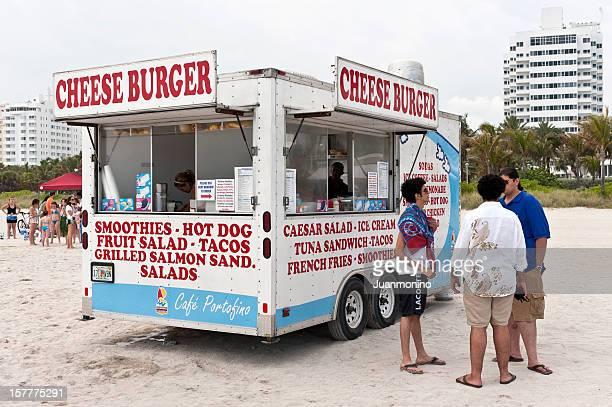 Miami Beach Hamburger Truck