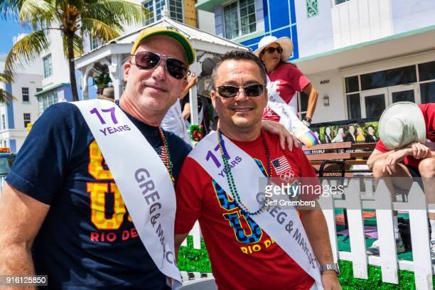 Miami Beach Lummus Park Beach Pride Festival Legacy Couple