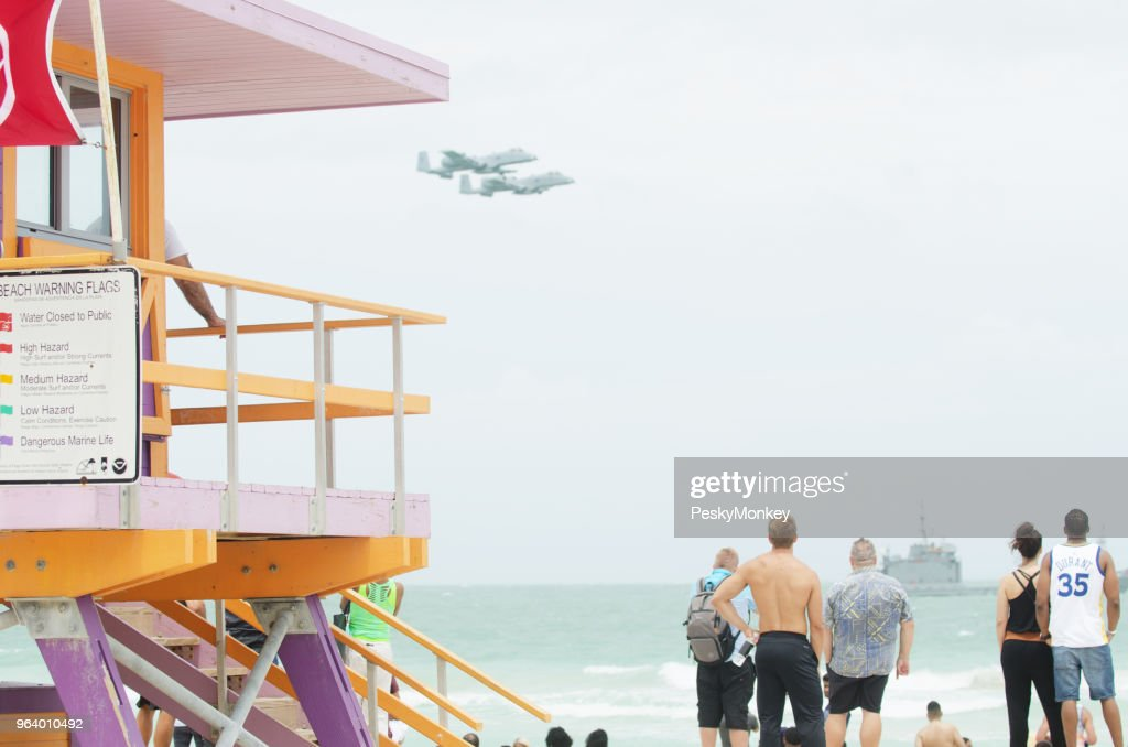 Miami Beach Memorial Day Weekend Air Show Stock Photo - Getty Images