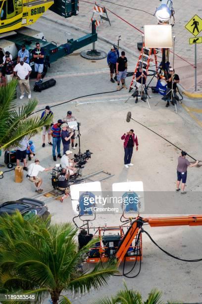 Miami Beach Movie production crew Bad Boys for Life
