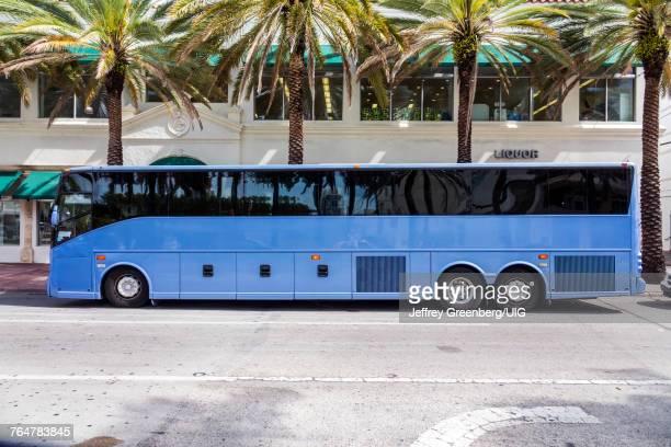 Miami Beach, Parked Tour bus