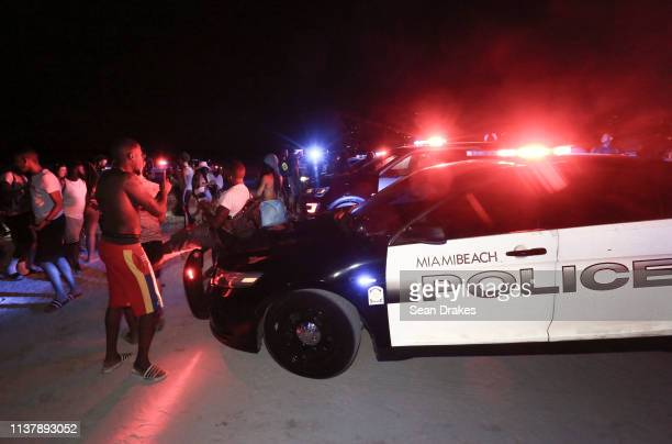 Miami Beach Police Department dispatched 301 officers to deter misconduct as thousands of college students and nonstudents attend Spring Break...