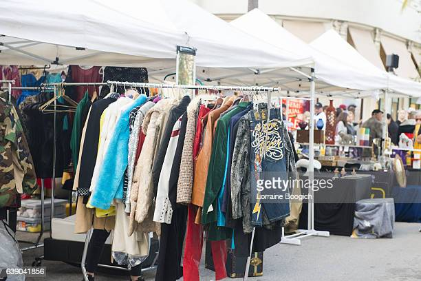 Miami Beach Pop Up Shop Selling Clothing on Rack Business