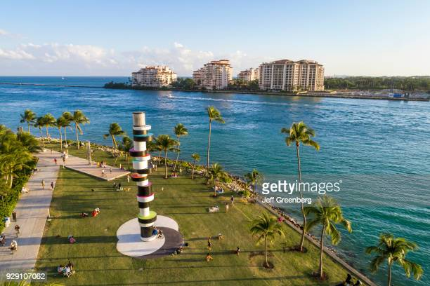 Miami Beach South Pointe Park Fisher Island Obstinate Lighthouse