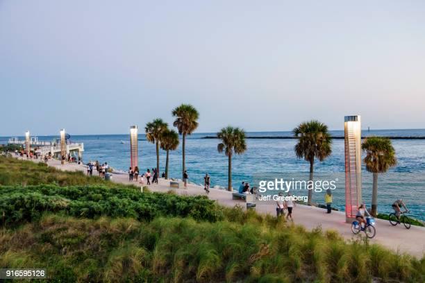 Miami Beach South Pointe Park Promenade