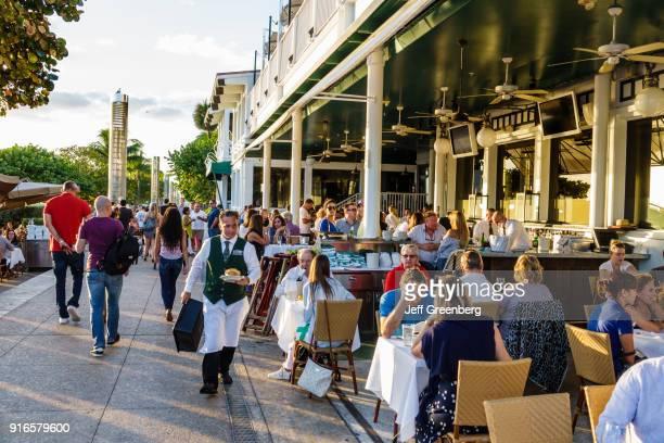 Miami Beach South Pointe Park Smith Wolensky Restaurant