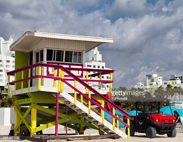 Miami Beach - The tower of lifeguard