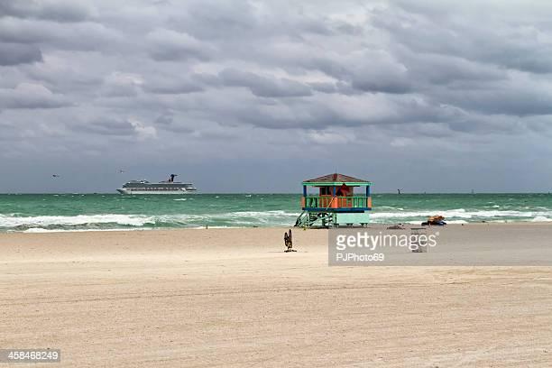 Miami Beach - The tower of lifeguard