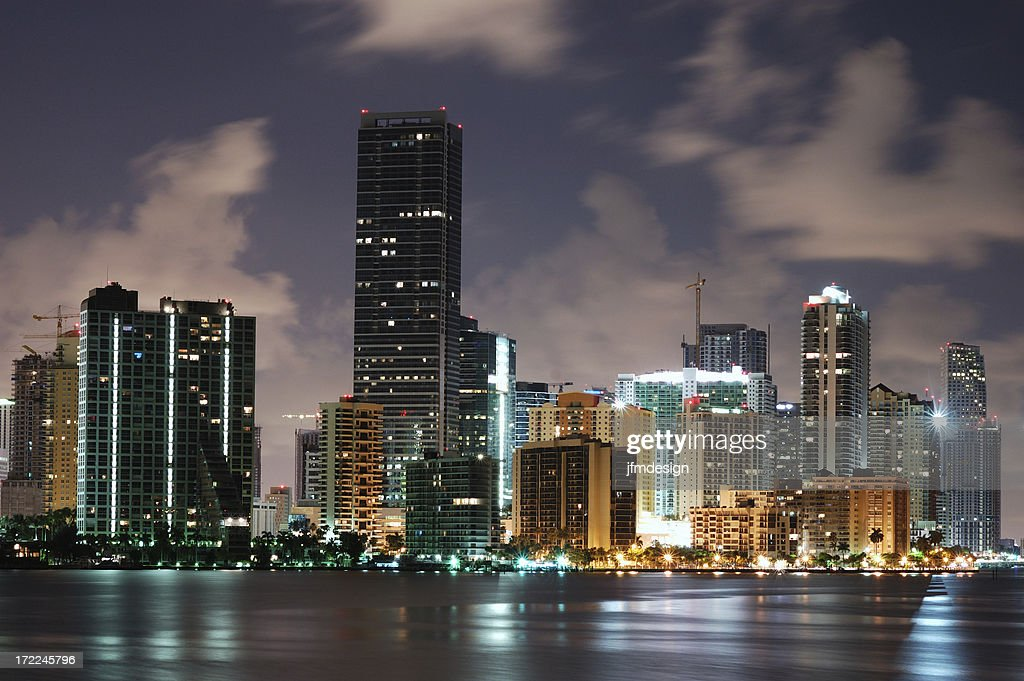 miami brickell growing : Stock Photo