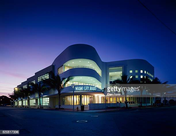 miami city ballet - performing arts center stock pictures, royalty-free photos & images