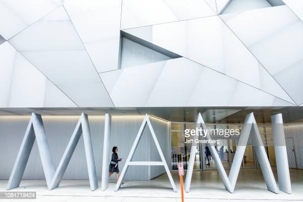 Miami Design District Institute of Contemporary Art entrance