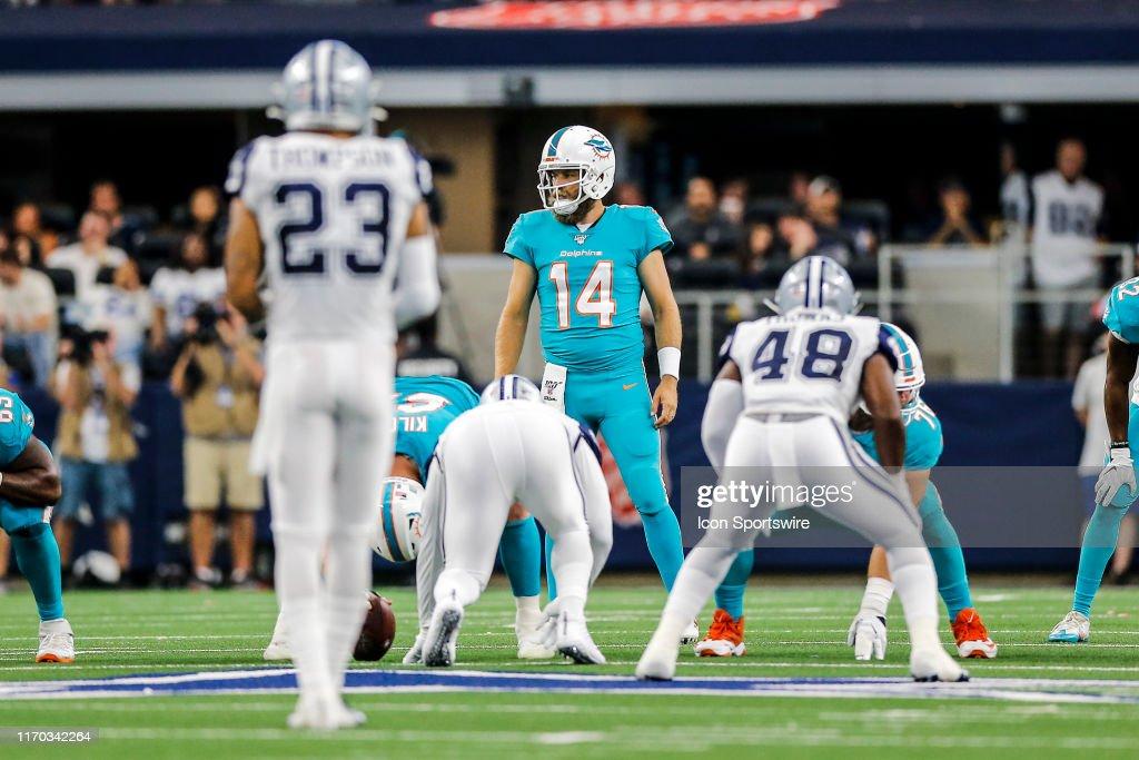 NFL: SEP 22 Dolphins at Cowboys : News Photo
