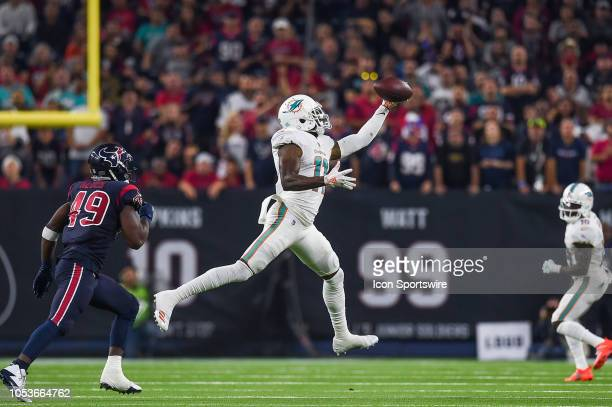 Miami Dolphins wide receiver DeVante Parker makes a onehanded catch during the football game between the Miami Dolphins and Houston Texans on October...