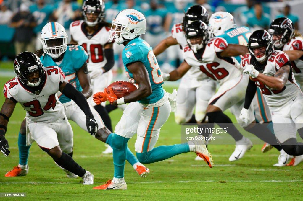 NFL: AUG 08 Preseason - Falcons at Dolphins : News Photo
