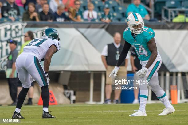 Miami Dolphins wide receiver Jarvis Landry during the preseason National Football League game between the Miami Dolphins and the Philadelphia Eagles...