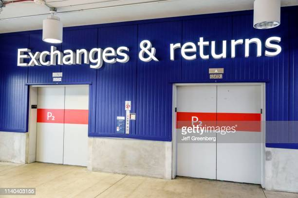 Miami Doral IKEA exchange and returns elevators