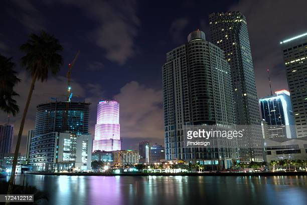 miami downtown highrising from brickell key 2