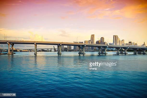 Der Innenstadt von Miami