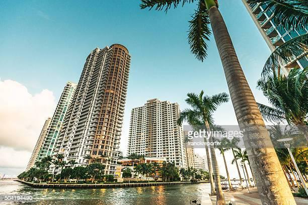 Miami downtown skyscrapers