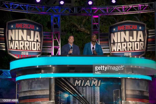 WARRIOR 'Miami Finals' Pictured Matt Iseman Akbar Gbajabiamila