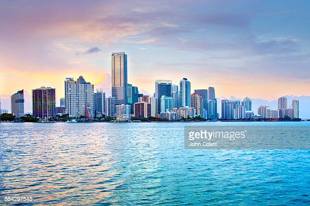 miami, florida - downtown miami stock pictures, royalty-free photos & images
