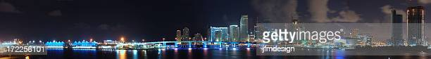 miami growing downtown nights