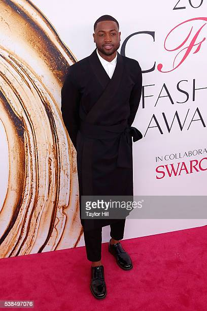 Miami Heat shooting guard Dwyane Wade attends the 2016 CFDA Fashion Awards at the Hammerstein Ballroom on June 6 2016 in New York City