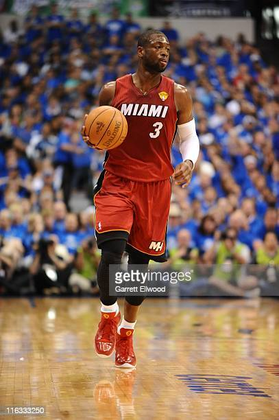 Miami Heat shooting guard Dwyane Wade is seen during the Game Three of the 2011 NBA Finals between the Dallas Mavericks and Miami Heat on June 5 2011...