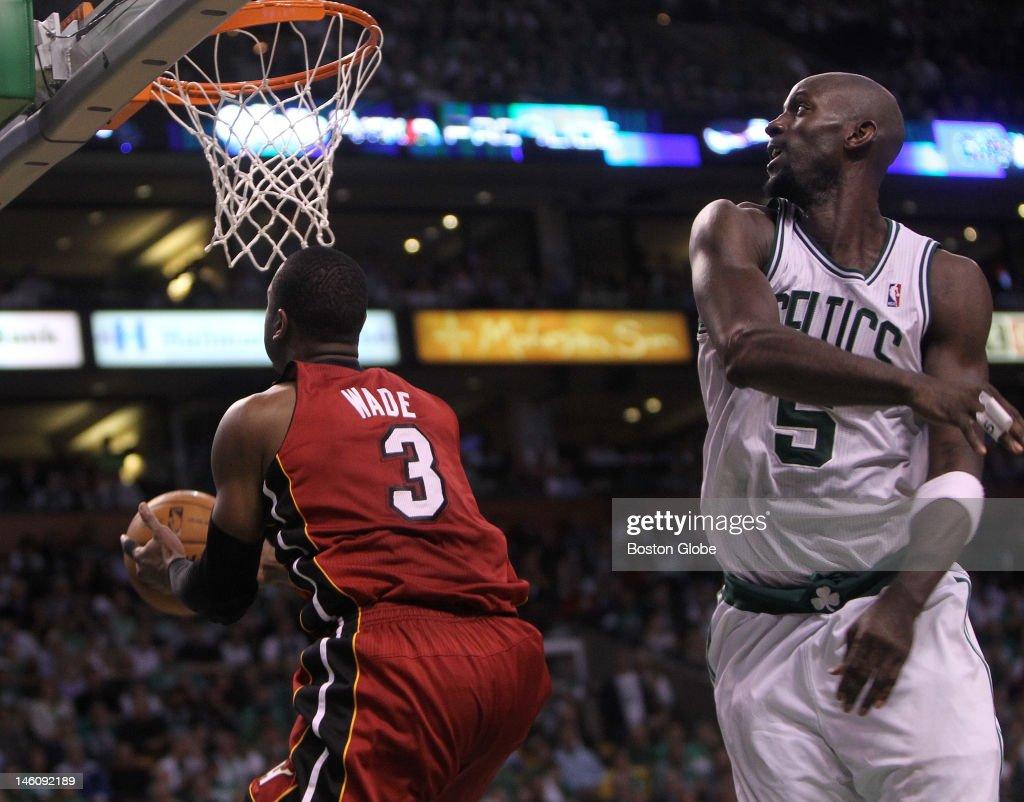 Miami Heat Vs. Boston Celtics At TD Garden : News Photo