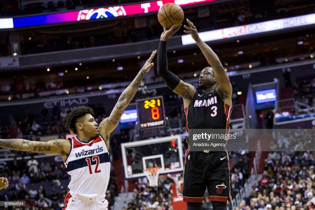 Washington Wizards vs Miami Heat: NBA : News Photo