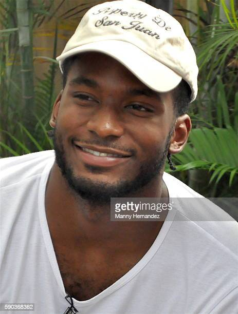 Miami Heat's Justise Winslow hosts Backyard BBQ at Ms Cheezious on July 24 2016 in Miami Florida