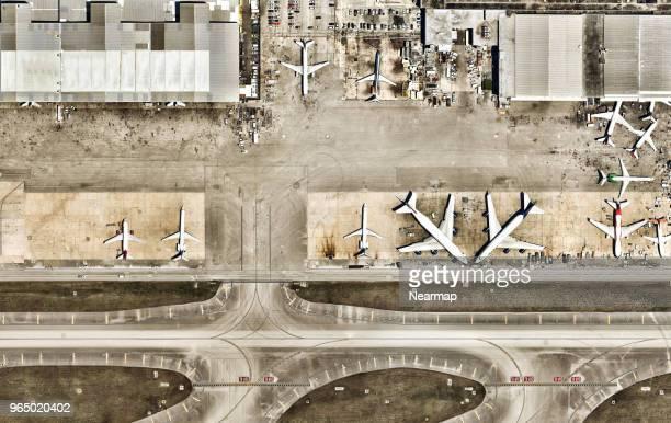 miami international airport, miami, florida, usa - aeropuerto internacional de miami fotografías e imágenes de stock