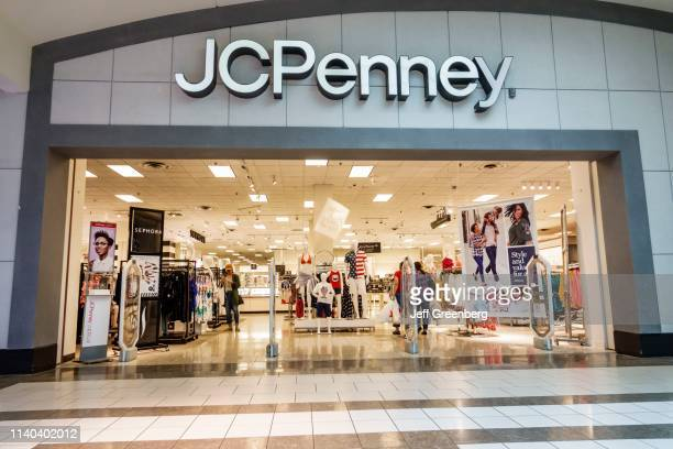 Miami JC Penny Department Store front entrance