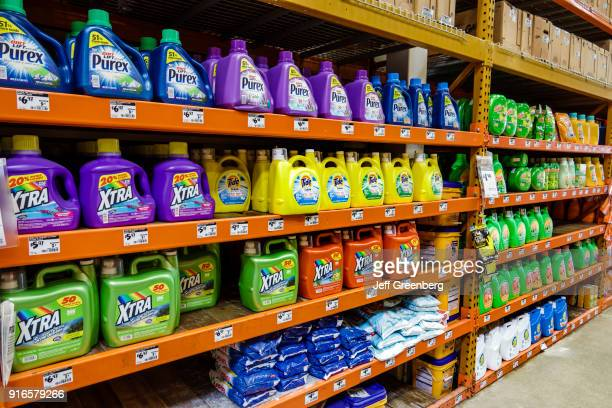 Miami Laundry Detergent Display at Home Depot