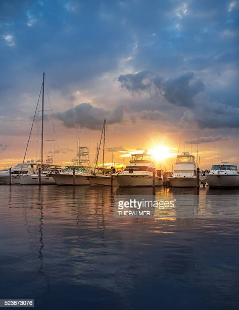 miami marina - gulf coast states stock pictures, royalty-free photos & images